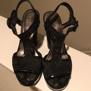 Used size 6 Coach heels
